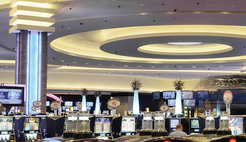 Grand Falls Resort Casino - Revolution Lighting Technologies