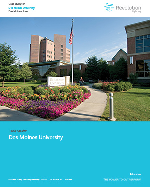 Des Moines University - Revolution Lighting Technologies