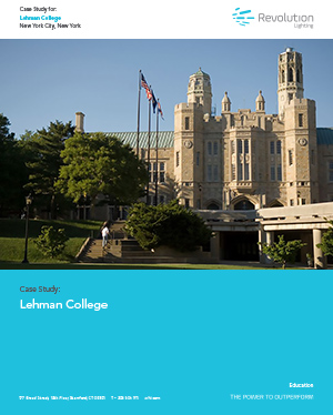 Lehman College - Revolution Lighting Technologies