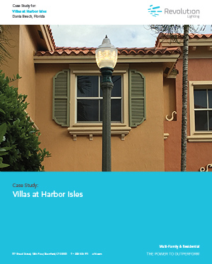 Villas at Harbor Isles - Revolution Lighting Technologies